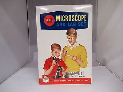 Vintage Gilbert Microscope And Lab Set, G-392