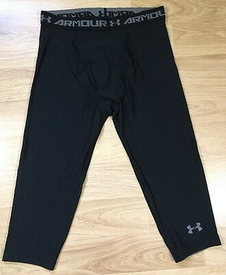 Under Armour Pants Youth XL Cropped Black NEW!!!