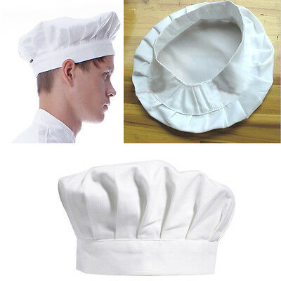 Baker Fashion Hat Kitchen Cook BBQ Unisex Elastic Catering Cap Catering Chef Hot