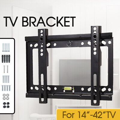 Tilt Swivel VESA LCD LED TV Monitor Wall Mount Bracket 14 23 30 32 37 40 42 INCH