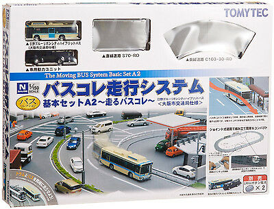 TOMIX N Scale 1/150 TOMYTEC The Moving Bus System Basic Set A2 (HINO Hybrid Bus)