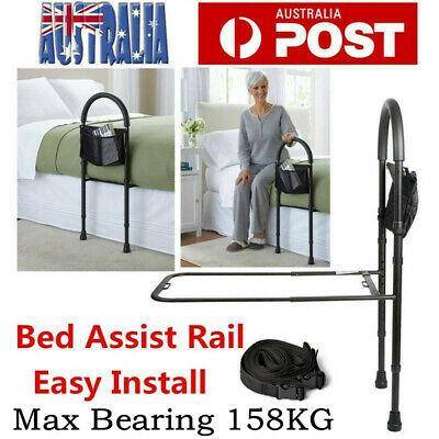 Bed Rail Bed Grip Assist Handle for the Ederly Disability Support Bar Adjustable