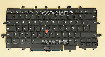 NEW for Lenovo Thinkpad Carbon X1 Gen 4 4th 2016 Keyboard Backlit French Clavier