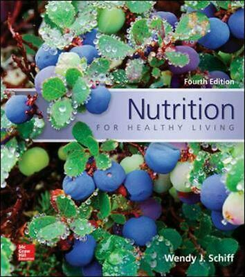 Nutrition for Healthy Living by Wendy J. Schiff (English) Paperback Book Free Sh