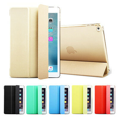 Smart Magnetic PU Leather Stand Back Cover Case for New iPad 9.7 2017 2018