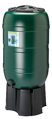 210 litre Water Butt, complete with stand, filler & tap