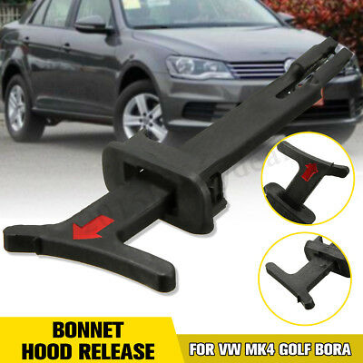 Bonnet Hood Release Handle Rod Pull Catch Clip For VW Bora MK4 Golf 1998-2006 UK