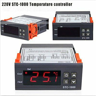Digital STC-1000 All-Purpose Temperature Controller Thermostat With Sensor TM