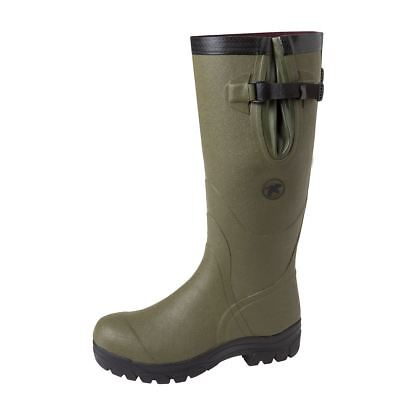 """Seeland FIELD 17"""" 4mm Wellingtons - Olive **FREE RUBBER FOOTCARE**"""