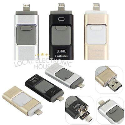 iFlash USB Storage Memory Stick OTG Flash Drive Disk For iPhone iPad 32/64/128GB