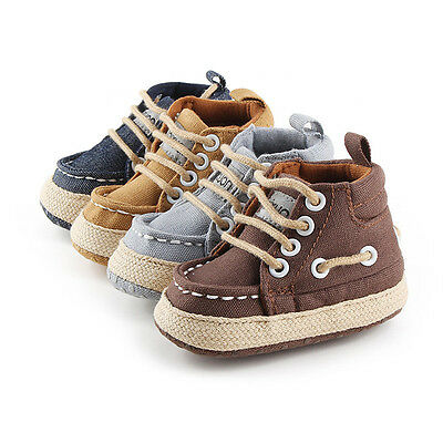 Toddler Newborn Shoes Baby Infant Kids Boy Girl Soft Sole Canvas Sneaker Hot