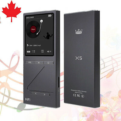 Professional Lossless Music MP3 HIFI Music Player With 2 Inch TFT Screen CANADA