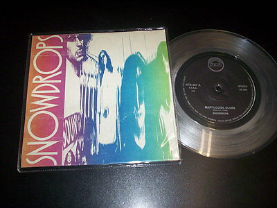 """Snowdrops – Marylouise Blues 7"""" clear vinyl Toast – NTD 827 Italy 1990"""