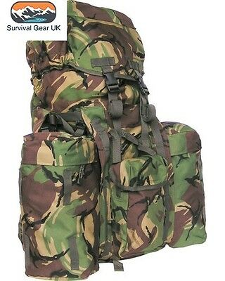Military Rucksack 120 Litre Bergen Dpm Camo Plce Kit Bag Cadet British Army