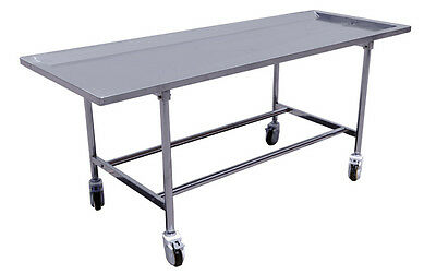 Stainless Steel Mortuary/Embalming Table