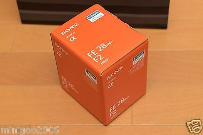 NEW SONY FE 28mm F2 SEL28F20 Full-frame Fixed Zoom E-mount 28 mm F/2 Lens*Offer