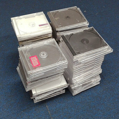 50 X Used CD Jewel Cases - Good Condition
