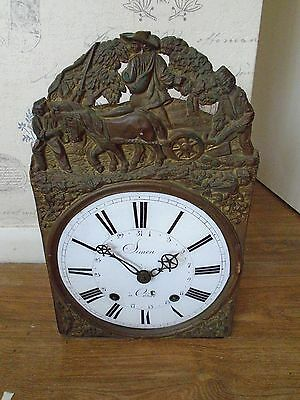 French Black Forest Clock /movement For Spare Or Repair