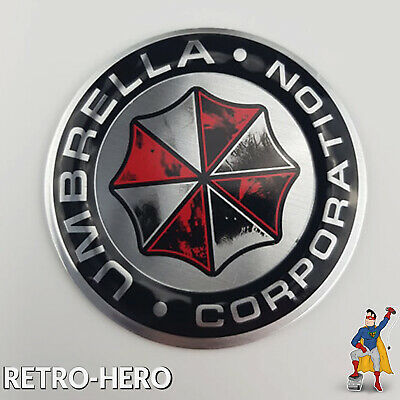 UMBRELLA Corporation Auto Aufkleber - 3D METALL Resident Evil Car Emblem Logo