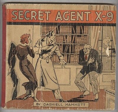 Secret Agent X-9 1934 Alex Raymond strip reprints