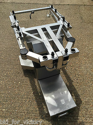 Stainless Electric Motor Powered Hospital Operating Medical Upcycle Table Base