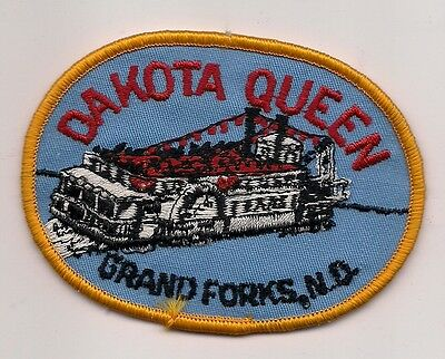 Dakota Queen, Grand Forks North Dakota Souvenir Patch