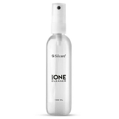 Base One Cleaner 100ml UV Nail Gel Sticky Residue Remover Brush Cleaner Silcare