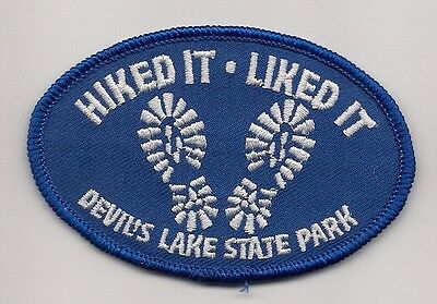 Devil's Lake State Park, Wisconsin Souvenir Patch - Hiked It, Liked It