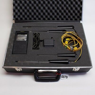 ATKINS  SER. 492 THERMOCOUPLE DIGITAL THERMOMETER 49200-K with PROBES