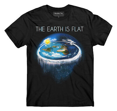 Flat Earth tshirt,Earth is Flat,Firmament, Sheol, NASA Conspiracy, New World FE1