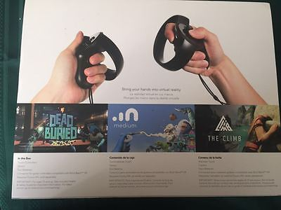 Brand new Oculus rift Touch Controllers Oculus Touch