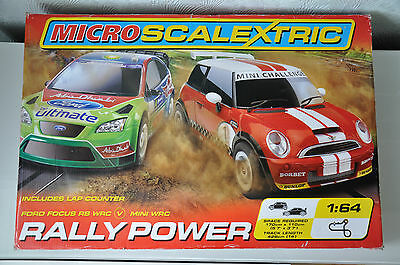 Micro Scalextric Rally Power