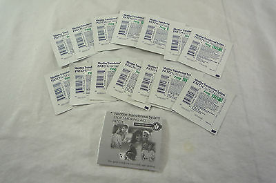 New Loose GSMS Step 3 14 Clear Patches 2-Week Supply 7 mg per patch Exp Dec/2017