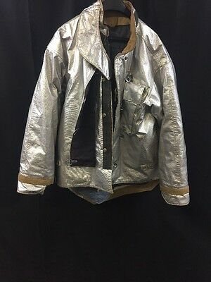 MORNING PRIDE Firefighter Proximity Jacket Turnout LT07602TS 44/29-35/32 Good