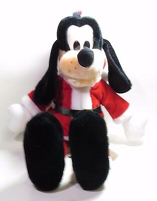 Disney Goofy Santa Claus Christmas Plush 17""
