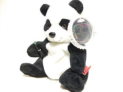 Coca Cola International Plush Beanie   ~ Zongshi The Panda Bear China ~  New
