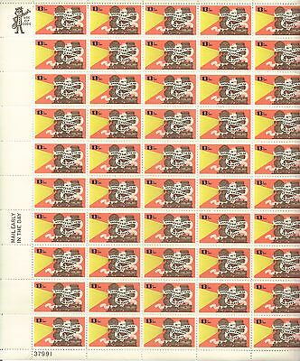 USA-United States 1977 13c Postage 50th Anniv Talking Pictures Sheet Scot 1727