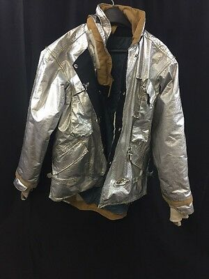 MORNING PRIDE Firefighter Proximity Jacket Turnout BPR7602TS Chest: 50 38 Exc.