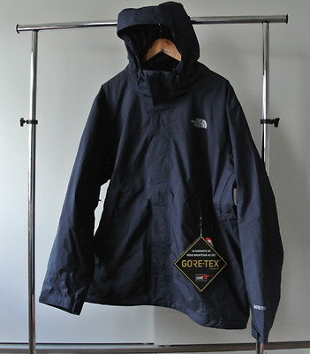The North Face men's mountain light shell Gore-Tex urban navy XXL