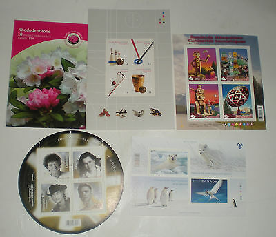 Canada Post Stamps $.54 X 24 F.v $12.96 Sports Attractions Recording Artists New