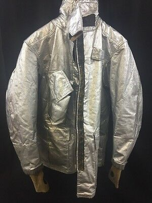 GLOBE M152 Firefighter Proximity Jacket Turnout Gear 40/32L Poor Condition