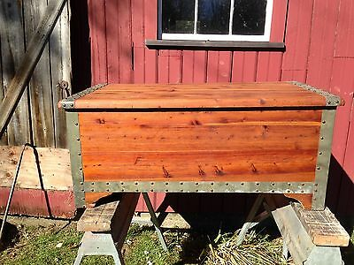 The Standard Red Cedar Chest Co. Antique Early 1900's Beautiful and Rare