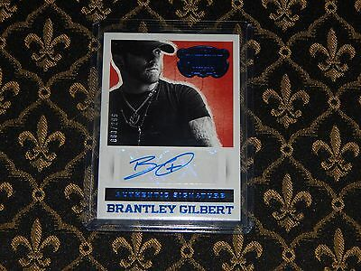 2014 Country Music Brantley Gilbert 80/299 Blue Auto