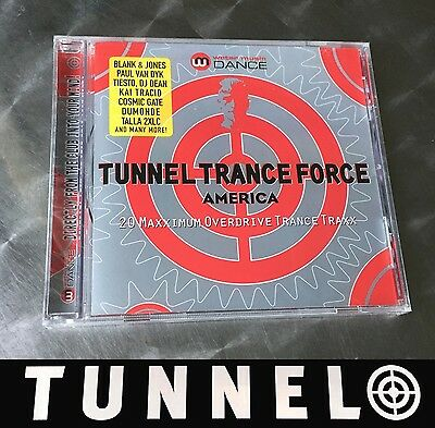 Tunnel Trance Force America 1 • Tunnel Cd Album