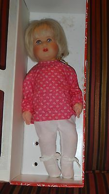 "Kathy Kruse 14"" Doll Made in Germany Original Box Excellent Condition"