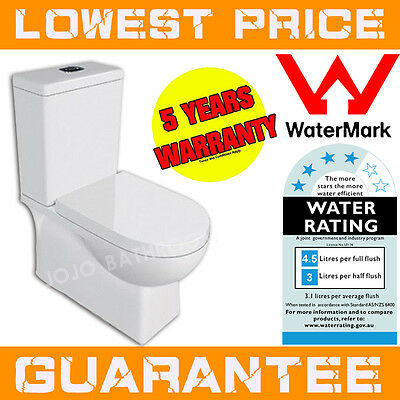 New Back To Wall Toilet Suite Soft Close Seat , Suitable for S/P traps