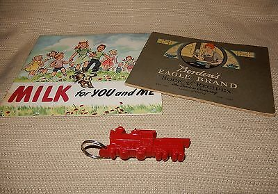 Awesome vintage Dairy advertising lot from Bordens & The Dairy Council