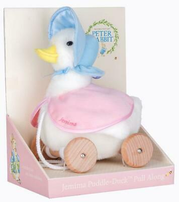 Pull Along Toy Jemima Puddle Duck - Beatrix Potter Free Shipping!