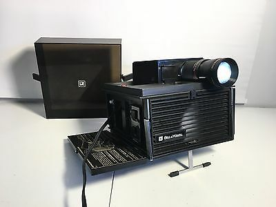 Vintage 70's Bell & Howell Slide Cube Projector Model AF 70