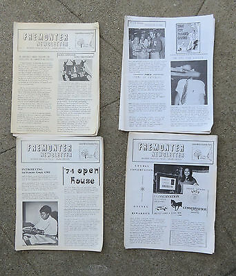 Lot of 23 General Motors Fremonter Employee Newspapers 1970s